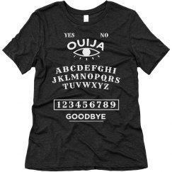 Halloween Ouija Board Tee