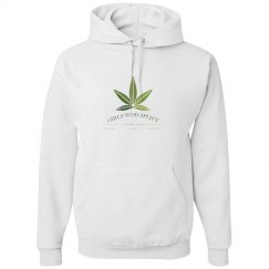 GIRLS WHO SPLIFT LEAF GRADIENT HOODIE