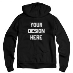 Make Custom Zip Hoodies