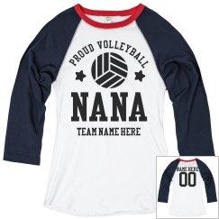 Proud Volleyball Nana