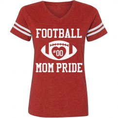 Football Mom Shirts With Custom Text