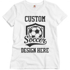 Custom Soccer Team Fan Design