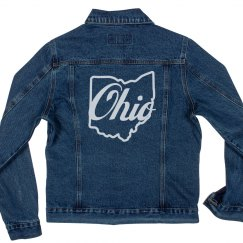 Proud Ohioan Denim Jacket