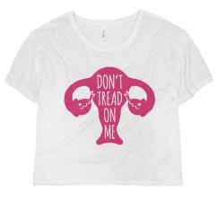Pink Don't Tread on Me Tee