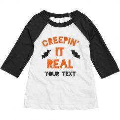 Creepin' It Real Custom Toddler