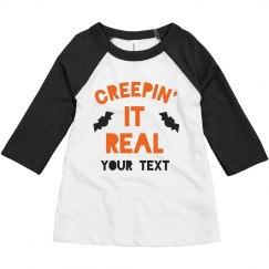 Creepin' It Real Custom Toddler