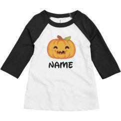 Cute Halloween Toddler Custom Name