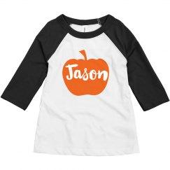 Custom Name Halloween Pumpkin