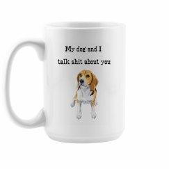 Beagle Dog Mom Mug