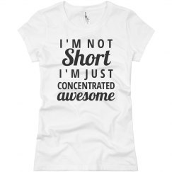 Im not short...