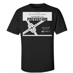 17th Annual Mid-Year Mens T-Shirt- Black