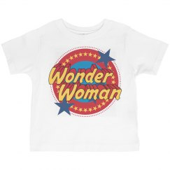 Wonder Woman Vintage Toddler Tee