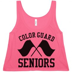 Color Guard Seniors Pride Crop