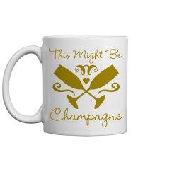 Champagne NYE Mug