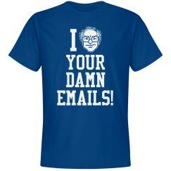 Bernie Hates Damn Emails