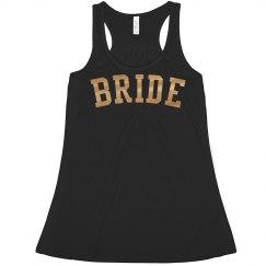 Bride Metallic Crop