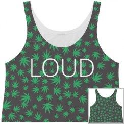 Loud crop top