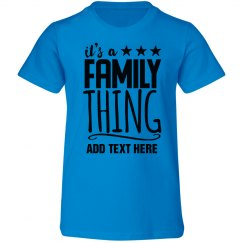Family Thing Reunion Design