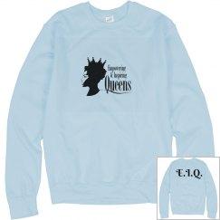 Blue EIQ sweater
