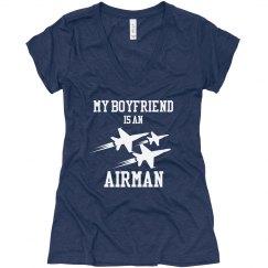 Airman Boyfriend Tee