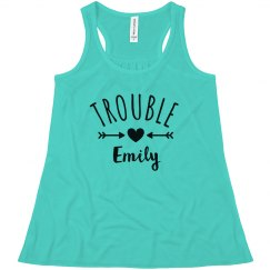 Double Trouble Matching Sister Tees