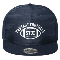 Fantasy Football Stud Navy Camo Trucker Hat