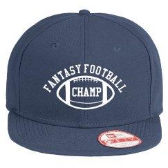Fantasy Football Champ Navy Trucker Hat