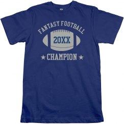 Fantasy Football Champion 20xx T-Shirt