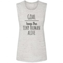 Keep The Tiny Human Alive