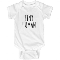 This is A Tiny Human