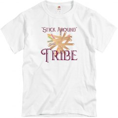 Stick Tribe plain tee