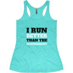 I Run Better Than Them