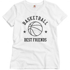 Custom Basketball Best Friends