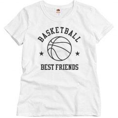 Custom Basketball Best Friends