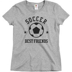 Custom Soccer Team Best Friends