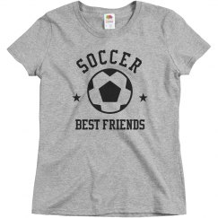 Custom Soccer Team Best Friends