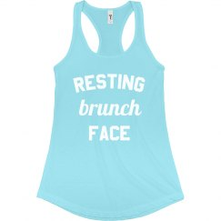 Resting Brunch Face Tank