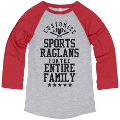 Custom Sports Ragans for Dad