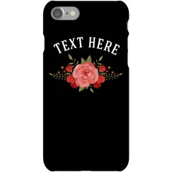 Custom Floral Trendy Phone Case