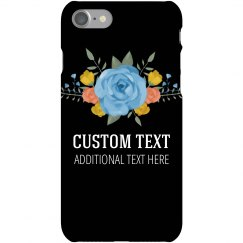 Custom Trendy Floral Phone Case