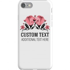 Custom Trendy Floral Phone Case