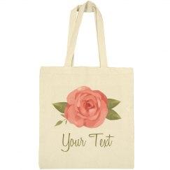 Floral Rose Spring Easter Bag