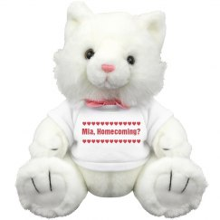 Heart Homecoming Kitten