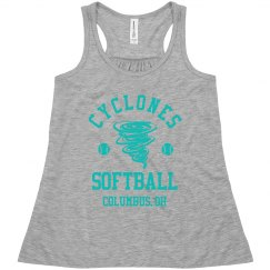 Custom Team Name Girls Softball