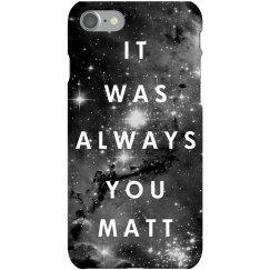 A Galaxy of Love for Matt