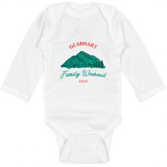 Gearhart Family Weekend Infant Onesie