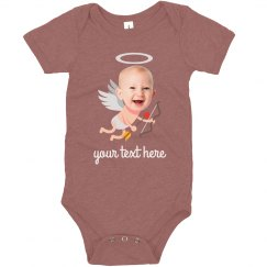 Baby Cupid Custom Upload Bodysuit