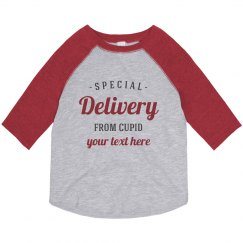Special Delivery Custom Text Tee