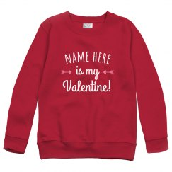 Youth Custom Valentine Sweater