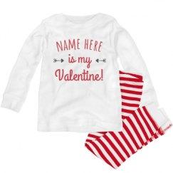 Toddler Pajama 1x1 Rib Set